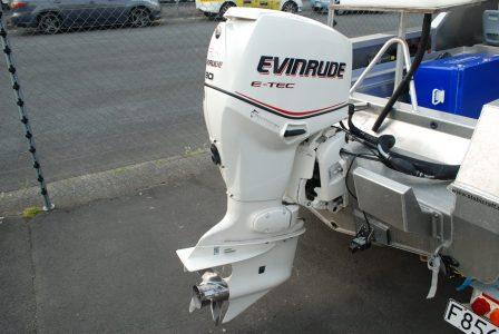Evinrude E-Tec 90hp 206 hours 2007