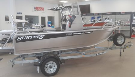Surtees 495 Pro Fisher 2020 Base Spec